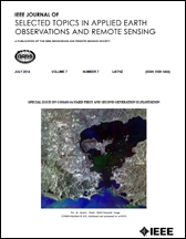 Cover des International Journal of Applied Earth Observation and Geoinformation