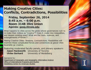 making creative Cities Flyer