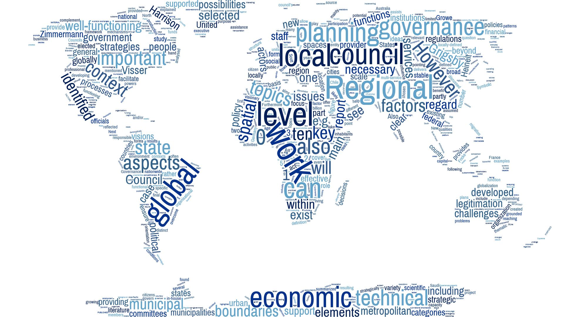 Regional Councils – A global perspective