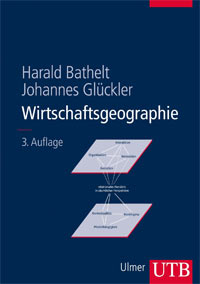 Cover of third edition of Wirtschaftsgeographie