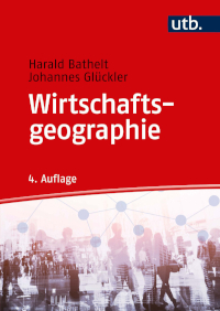 Cover of fourth edition of Wirtschaftsgeographie